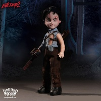 MEZCO TOYZ The Living Dead Dolls Presents Ash. Evil Dead 2. Dead By Dawn