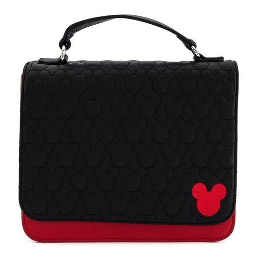 Loungefly Disney Mickey Mouse Quilted Crossbody Bag