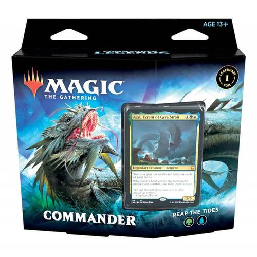Magic The Gathering Commanders Legends Reap the Tide Commander Deck