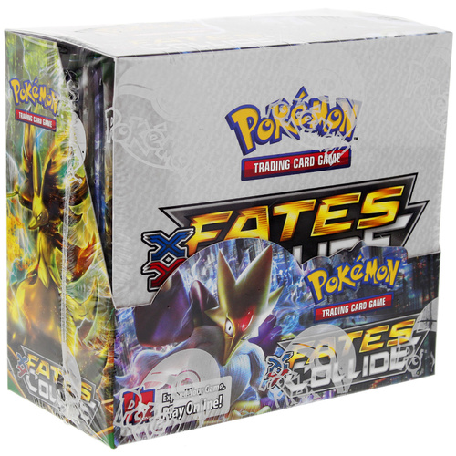 Pokemon TCG. XY Fates Collide. Booster Box. 36 Booster Packs.